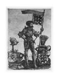 George III Truchsess (Steward) of Waldburg-Zeil, as Captain of the Swabian League, C.1526-30 Giclee Print by Hans Burgkmair