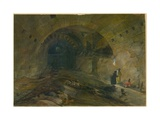 Wilson's Arch, Jerusalem, 1870 Giclee Print by William 'Crimea' Simpson