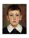 Portrait of a Boy Giclee Print by John Fulleylove