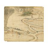 Transplanting the Rice, from 'Gengzhi Tu' Giclee Print by Tang Yin