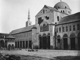 Exterior View of the Prayer Hall, Umayyad Mosque, Damascus, Syria, 1862 Photographic Print by Francis Bedford