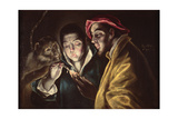 Allegory Giclee Print by  El Greco