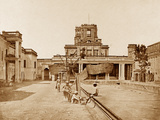 Interior of the Chutr Munzil, Lucknow Photographic Print by Felice Beato