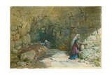 The Fountain of the Virgin, Jerusalem, 1869 Giclee Print by William 'Crimea' Simpson