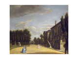 View of Chiswick Villa from the Back to the Inigo Jones Gate, 1742 Giclee Print by George Lambert