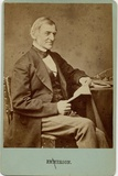 Ralph Waldo Emerson (1803-82), American Poet, Philosopher, Essayist Photographic Print