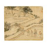 Planting Rice, from 'Gengzhi Tu' Giclee Print by Tang Yin