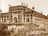 Exterior of Asoph-Ou Dowlahs Emambara and Grounds, Lucknow Photographic Print by Felice Beato