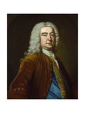 Portrait of Henry Pelham as Prime Minister, C.1743 Giclee Print by John Giles Eccardt
