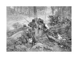 Battle of King's Mountain, 7 October 1780 Giclee Print by Frederick Coffay Yohn