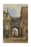 A View of the High Street Gate, 1850 Giclee Print by J. H. Ponsonby