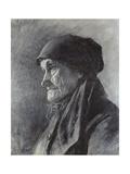 Tete De Paysanne Giclee Print by Leon Augustin Lhermitte