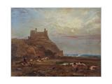 Harlech Castle, 1820 Giclee Print by Anthony Vandyke Copley Fielding