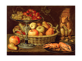 Still Life with Silver-Gilt Tazza Giclee Print by Clara Peeters