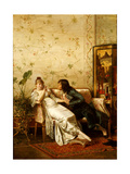 An Amorous Advance Giclee Print by Joseph Frederick Charles Soulacroix