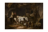 Robinson Crusoe and Man Friday Giclee Print by Alexander Snr Fraser