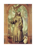 Saint Bernard of Clairvaux, 1603 Giclee Print by  El Greco