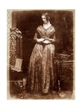 Mrs. Bell of Madras, C.1844 Giclee Print by  David Octavius Hill and Robert Adamson