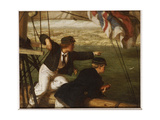 Land Ahoy!, 1864 Giclee Print by Philip Richard Morris