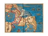 Asia in the Shape of Pegasus, 1594 Giclee Print by Heinrich Bunting