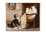 Old Playfellows, 1883 Giclee Print by Briton Rivière