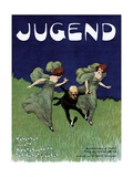 Poster Advertising the 'Jugend' Newspaper Giclee Print by Ludwig von Zumbusch