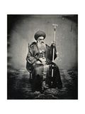 Syrian Patriarch of Jerusalem, 1850s Giclee Print by Mendel John Diness