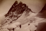 The Breche De La Meije, Massif Des Ecrins, 1890 Photographic Print