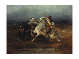 The Night Raid Giclee Print by Adolf Schreyer