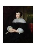 Portrait of a Woman Giclee Print by Abraham Lamberts Jacobsz van den Tempel