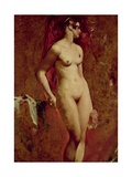 Nude Female Standing Giclee Print by William Etty