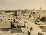 Photographic Views in the Holy Land: Rooftops of Jerusalem with the Church of the Holy Sepulchre,… Photographic Print by Mendel John Diness