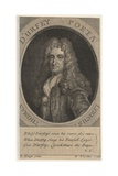 Thomas D'Urfey, Engraved by George Vertue (1683-1756), 1732 Giclee Print by Edward Gouge