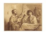 A Tavern Scene Giclee Print by Arthur Devis