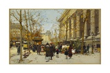 Flower Walk Giclee Print by Eugene Galien-Laloue