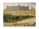View of the Alcazar of Madrid, 1650 Giclee Print by Felix Castello