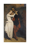 Faust and Margaret in the Garden, 1846 Giclee Print by Ary Scheffer