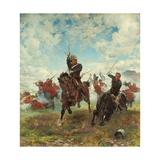 Floreat Etona!, 1882 Gicléetryck av Lady Butler