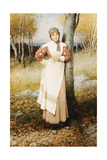 A Rose in New England Giclee Print by George Henry Boughton