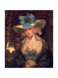 Isabella Seymour Conway, Viscountess Beauchamp, Later Marchioness of Hertford, C.1789 Giclee Print by John Hoppner