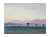A View of Mount Fuji Giclee Print by Charles Wirgman