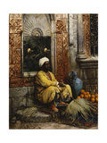 The Orange Seller, 1882 Giclee Print by Ludwig Deutsch