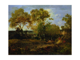 The End of Autumn Giclee Print by Theodore Rousseau