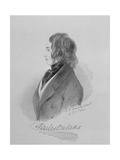 Portrait of Charles Dickens (1812-70) 16th December 1841 Giclee Print by Alfred d' Orsay