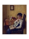 A Yeshiva Boy Giclee Print by Isidor Kaufmann