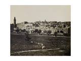The Northwest Area of Haram Al Sharif, 1850S Giclee Print by Mendel John Diness