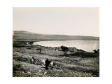 The Sea of Galilee, 1850s Giclee Print by Mendel John Diness
