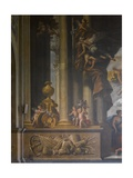 Detail of the West Wall of the Painted Hall, C.1707-27 Giclee Print by Sir James Thornhill