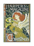 Poster Advertising a Christmas Issue of 'Harper's Magazine' Giclee Print by Eugene Grasset