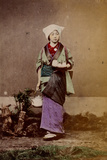 Geisha Girl, 1890 Photographic Print